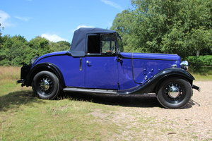 1937 Austin Eton Light 12/4 - 2 seater drop hood For Sale