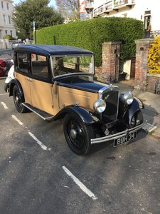 1934 Austin 10/4 Chrome Radiator Saloon