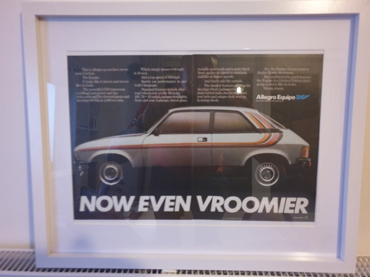 1979 Austin Allegro advert Original  For Sale (picture 1 of 3)