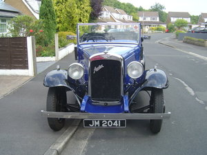 1935 AUSTIN 12/4 HARROW. For Sale