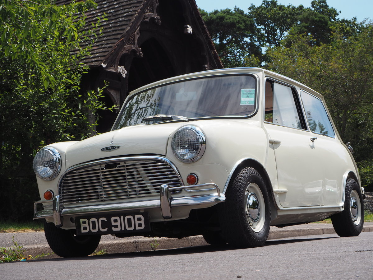Austin Mini Cooper S MK 1 1964 For Sale (picture 1 of 6)