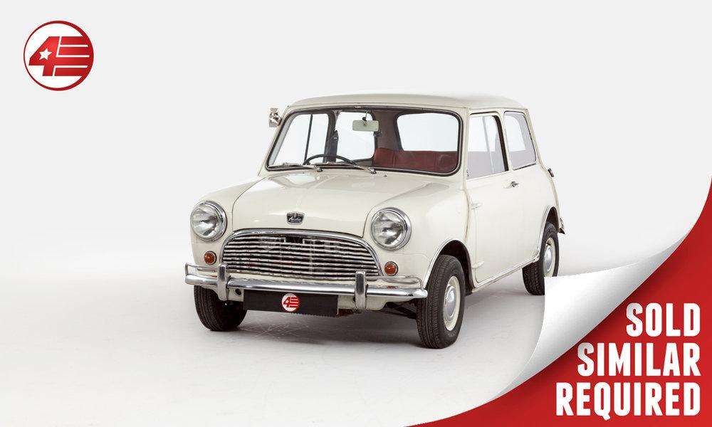 1965 Austin Mini Mk1 998cc /// Recent Mechanical Overhaul SOLD (picture 1 of 2)