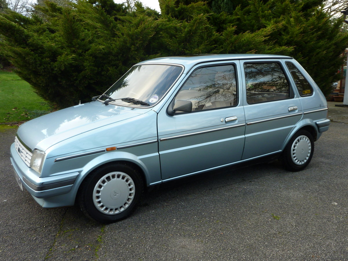1986 Austin Metro Vanden Plas-One owner from new SOLD (picture 1 of 6)
