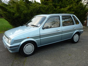 1986 Austin Metro Vanden Plas-One owner from new For Sale