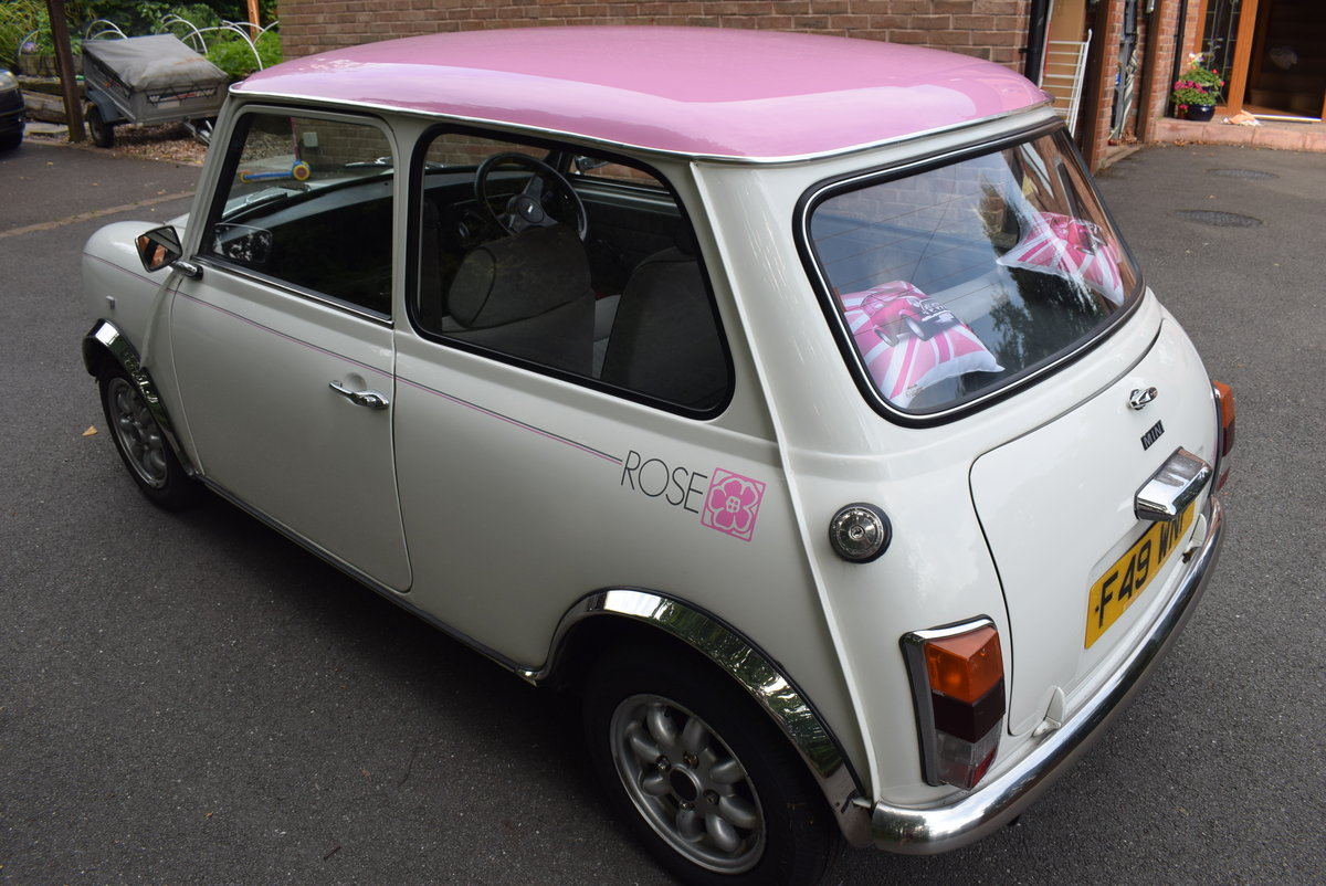 1989 Mini Rose - Limited Edition - Original condition SOLD (picture 3 of 6)