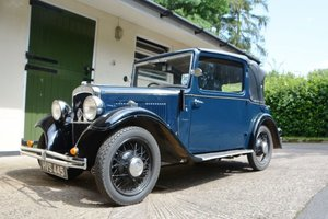 1933 Austin 10/4 Cabriolet For Sale by Auction