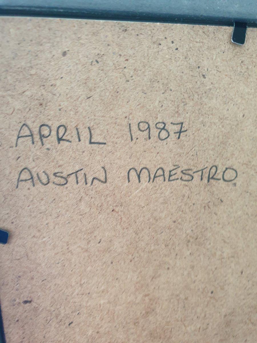 Original 1987 Austin Maestro Framed Advert  For Sale (picture 2 of 3)