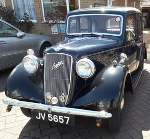 1937 Historic Austin Cambridge at a classic price For Sale