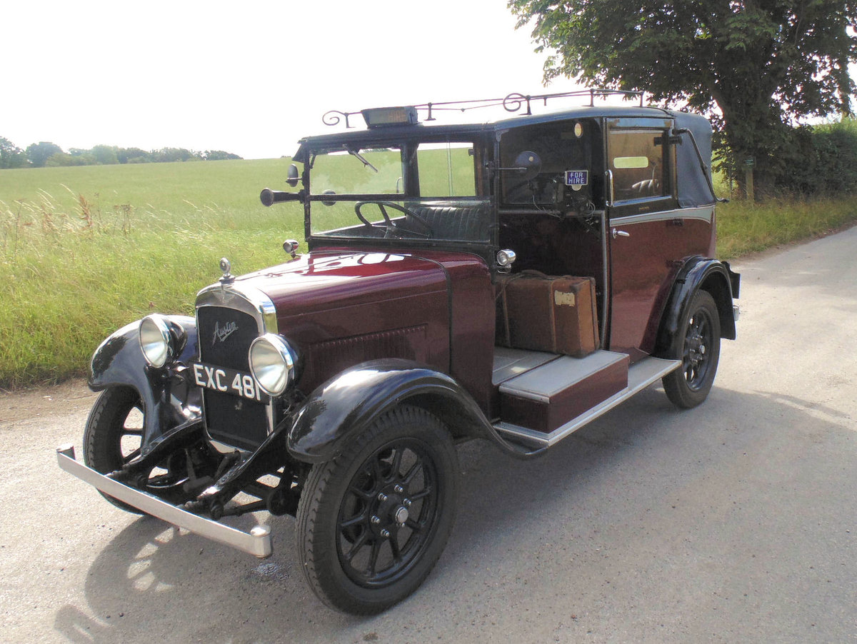1938 Austin Heavy 12/4 Low Loader Taxi SOLD (picture 1 of 6)
