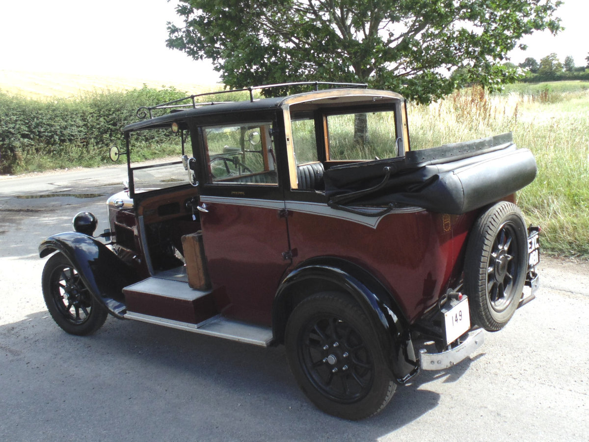 1938 Austin Heavy 12/4 Low Loader Taxi SOLD (picture 3 of 6)