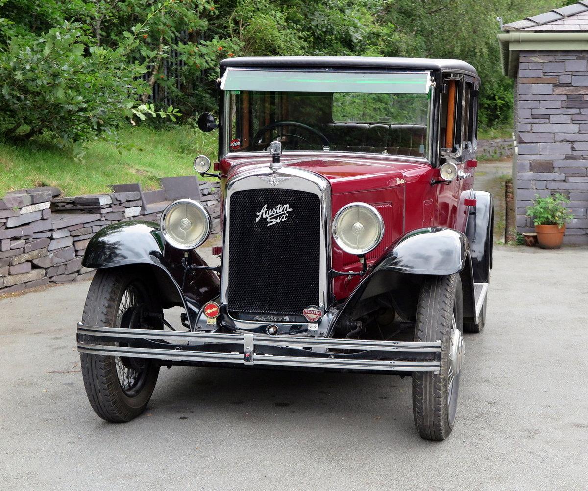 1932 Austin 16/6 Burnham Six-Light Saloon For Sale (picture 1 of 6)