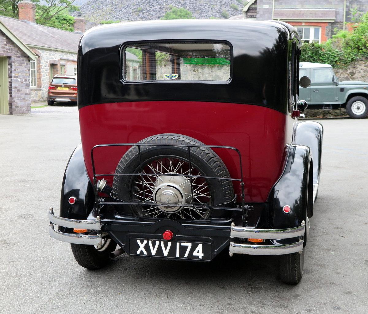 1932 Austin 16/6 Burnham Six-Light Saloon For Sale (picture 2 of 6)
