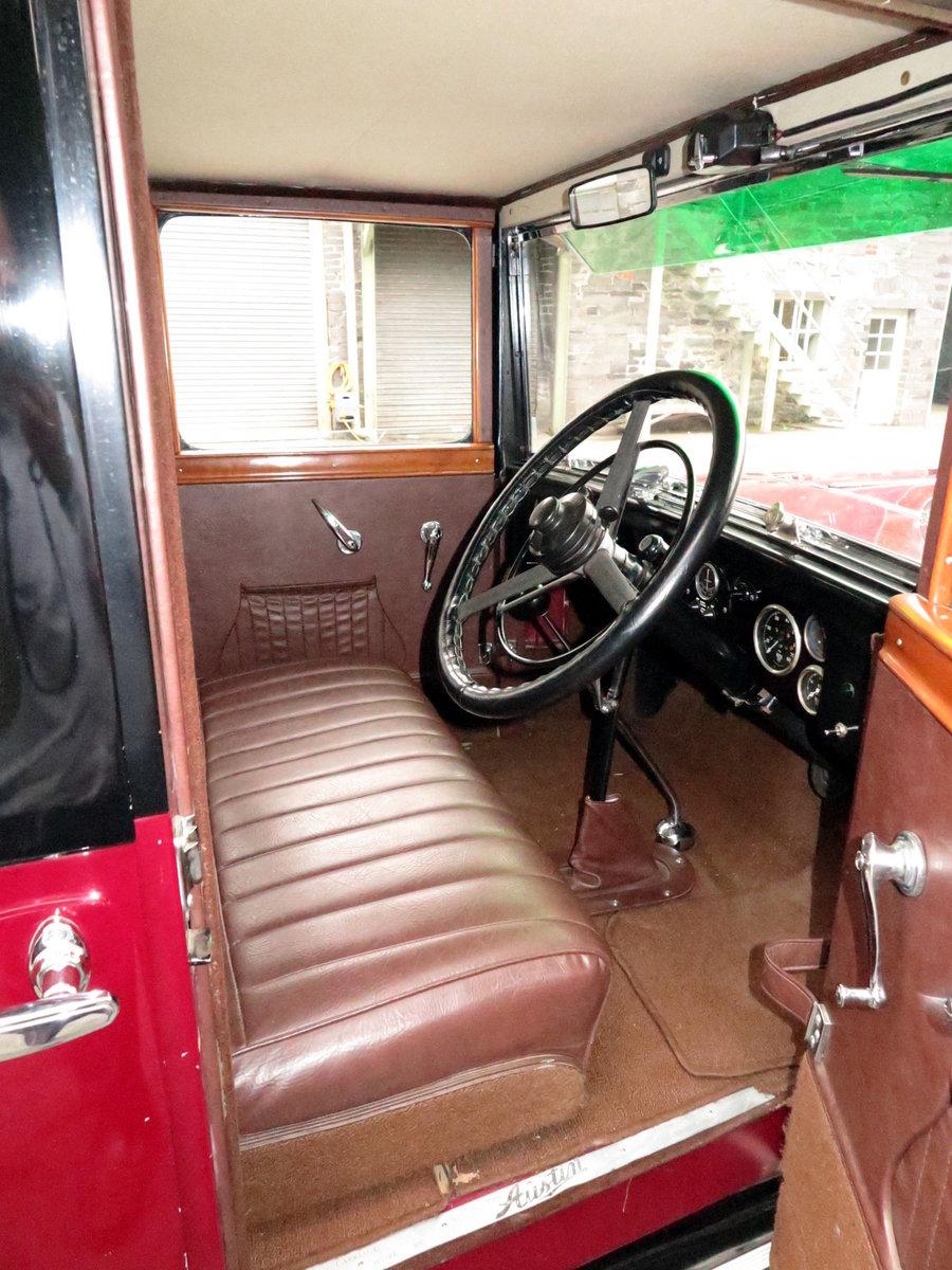 1932 Austin 16/6 Burnham Six-Light Saloon For Sale (picture 6 of 6)