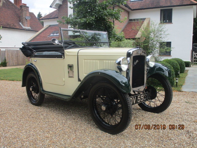 1931 Austin 7 Boat Tail 2 Seater Tourer SOLD (picture 1 of 6)