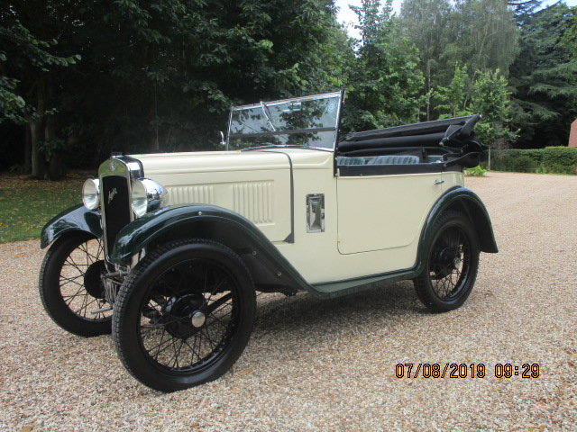 1931 Austin 7 Boat Tail 2 Seater Tourer SOLD (picture 2 of 6)