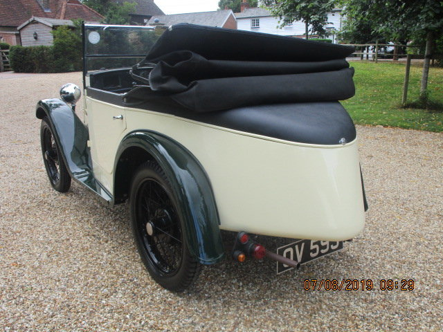 1931 Austin 7 Boat Tail 2 Seater Tourer SOLD (picture 3 of 6)