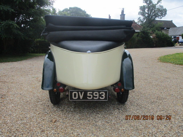 1931 Austin 7 Boat Tail 2 Seater Tourer SOLD (picture 5 of 6)