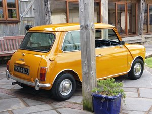1970 Outstanding Austin Mini 1275 MK 3 Cooper S  SOLD