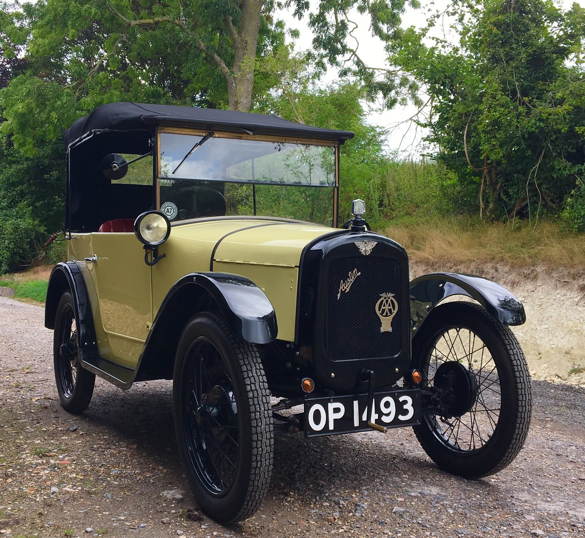 1926 Austin Seven Chummy SOLD (picture 1 of 6)