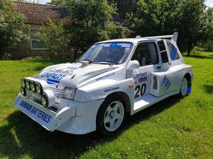 1989 Metro 6R4 Rallysport Evocation at ACA 24th August