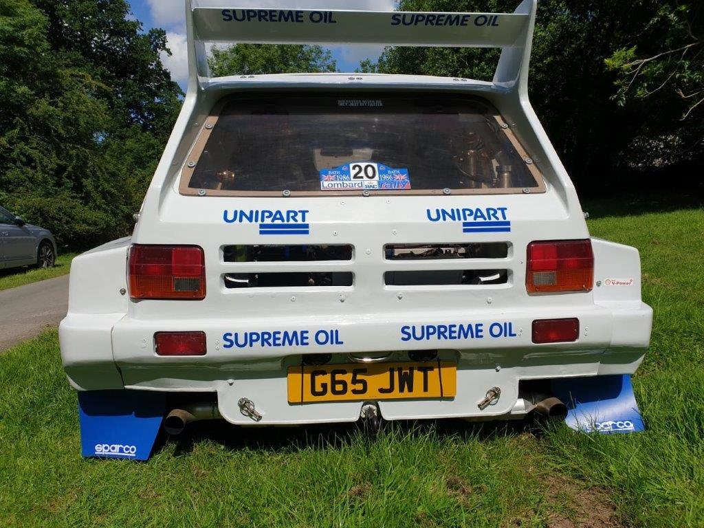 1989 Metro 6R4 Rallysport Evocation at ACA 24th August  For Sale (picture 2 of 5)