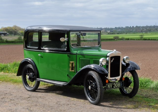 1933 Austin 7 box saloon Lovingly restored  For Sale (picture 1 of 6)