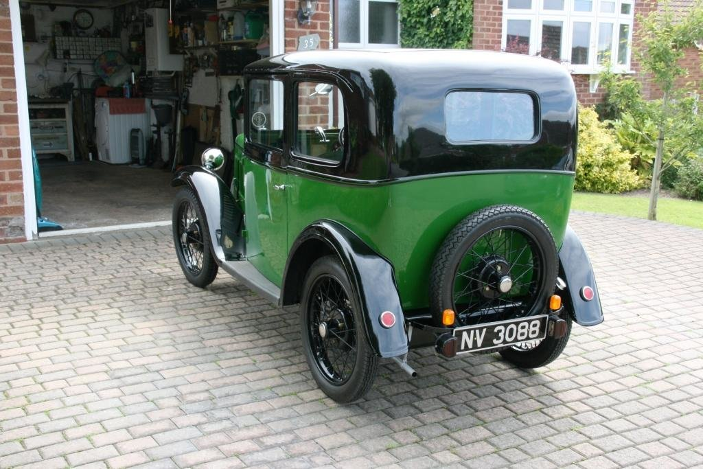 1933 Austin 7 box saloon Lovingly restored  For Sale (picture 2 of 6)