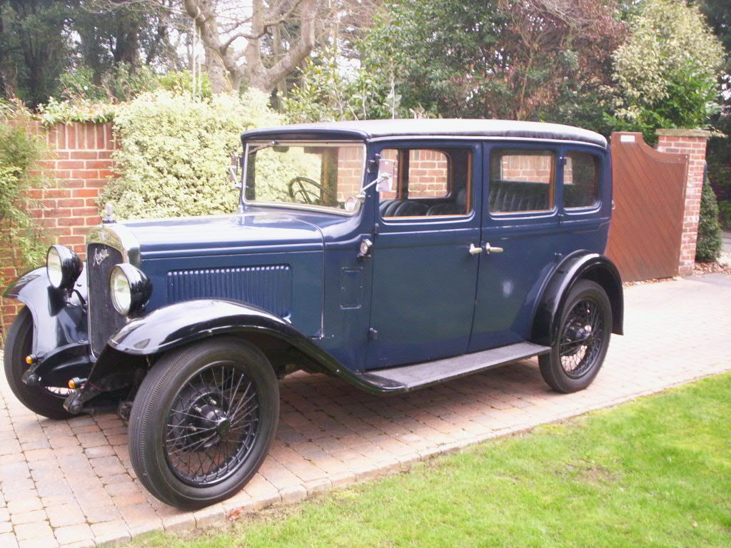 1932 Austin 12/4 Saloon For Sale (picture 1 of 6)