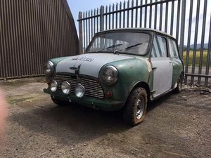 1965 Austin Mini at Morris Leslie Auction 17th August SOLD by Auction