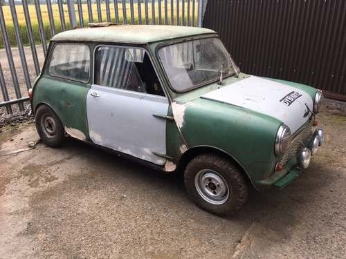 1965 Austin Mini at Morris Leslie Auction 17th August SOLD by Auction (picture 2 of 6)