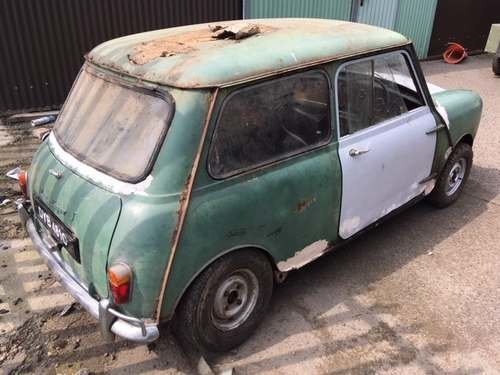 1965 Austin Mini at Morris Leslie Auction 17th August SOLD by Auction (picture 3 of 6)
