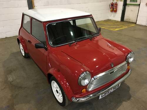 1989 Austin Mini Racing Flame at Morris Leslie Auction 17th Aug For Sale by Auction (picture 1 of 6)