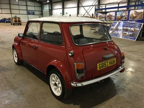 1989 Austin Mini Racing Flame at Morris Leslie Auction 17th Aug For Sale by Auction (picture 3 of 6)