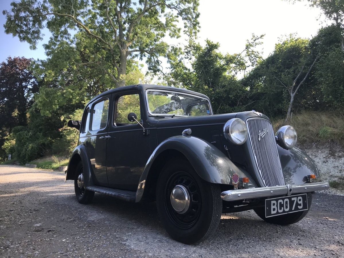 1938 Austin Ten Conway Cabriolet For Sale (picture 1 of 6)