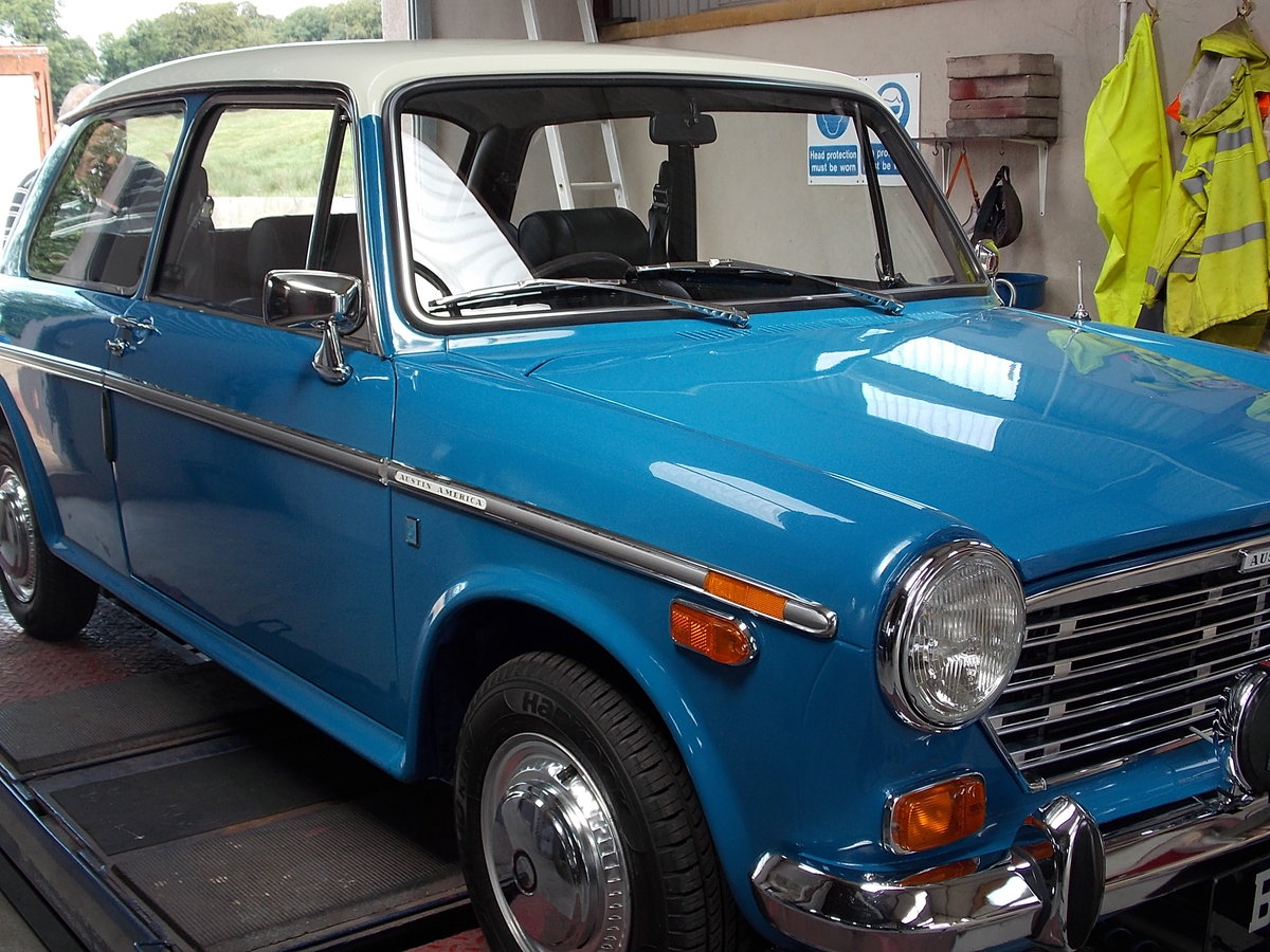 1970 AUSTIN AMERICA -  RARE AND FULLY RESTORED For Sale (picture 1 of 6)