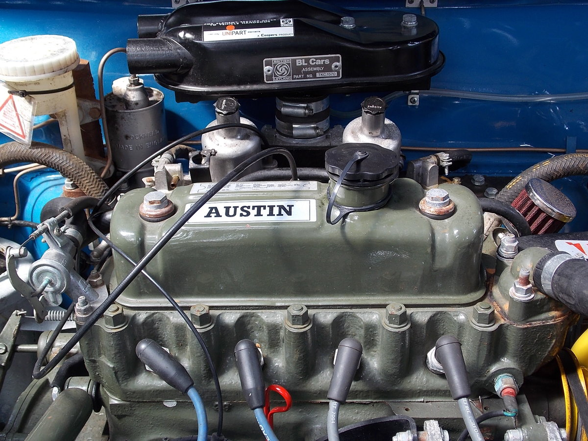 1970 AUSTIN AMERICA -  RARE AND FULLY RESTORED For Sale (picture 5 of 6)
