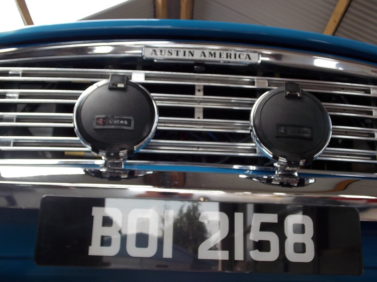 1970 AUSTIN AMERICA -  RARE AND FULLY RESTORED For Sale (picture 6 of 6)
