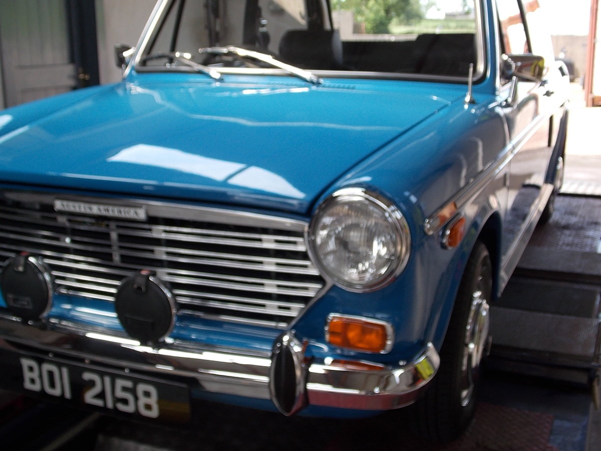 1970 AUSTIN AMERICA -  RARE AND FULLY RESTORED For Sale (picture 2 of 6)