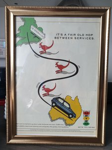 1987 Metro advert Original framed