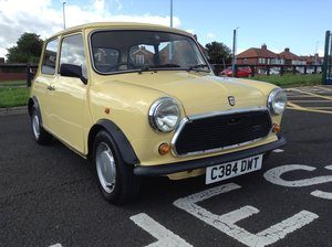 1986 AUSTIN MINI CITY E GENUINE 36K For Sale
