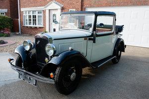 1934 Austin 10/4 Cabriolet For Sale