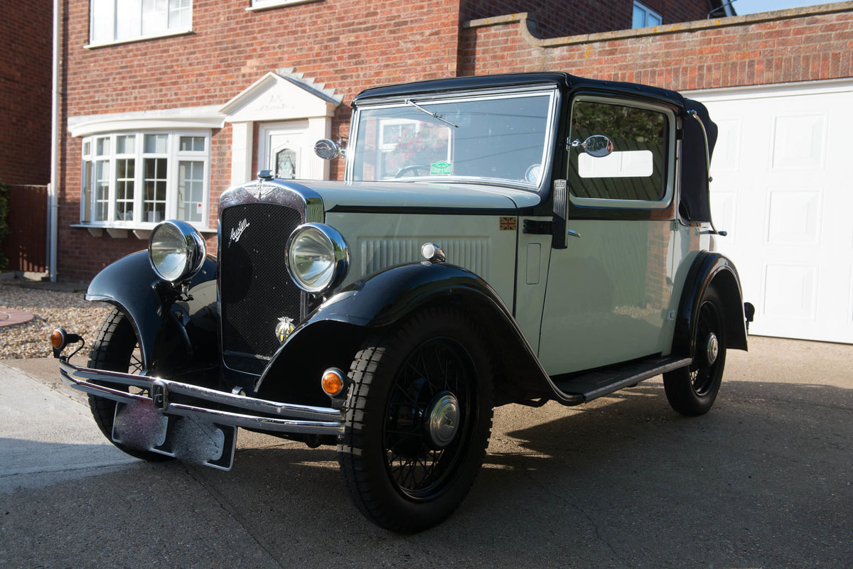 1934 Austin 10/4 Cabriolet SOLD (picture 4 of 6)