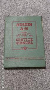 Austin a40 workshop manual