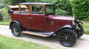 1928 AUSTIN 'HEAVY' 12/4 LANDAULETTE For Sale by Auction