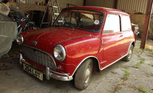 1964 AUSTIN MINI SUPER-DE-LUXE SALOON For Sale by Auction