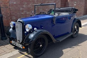 1935 AUSTIN SEVEN OPAL TOURER For Sale by Auction
