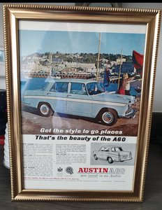 Austin A60 advert Original