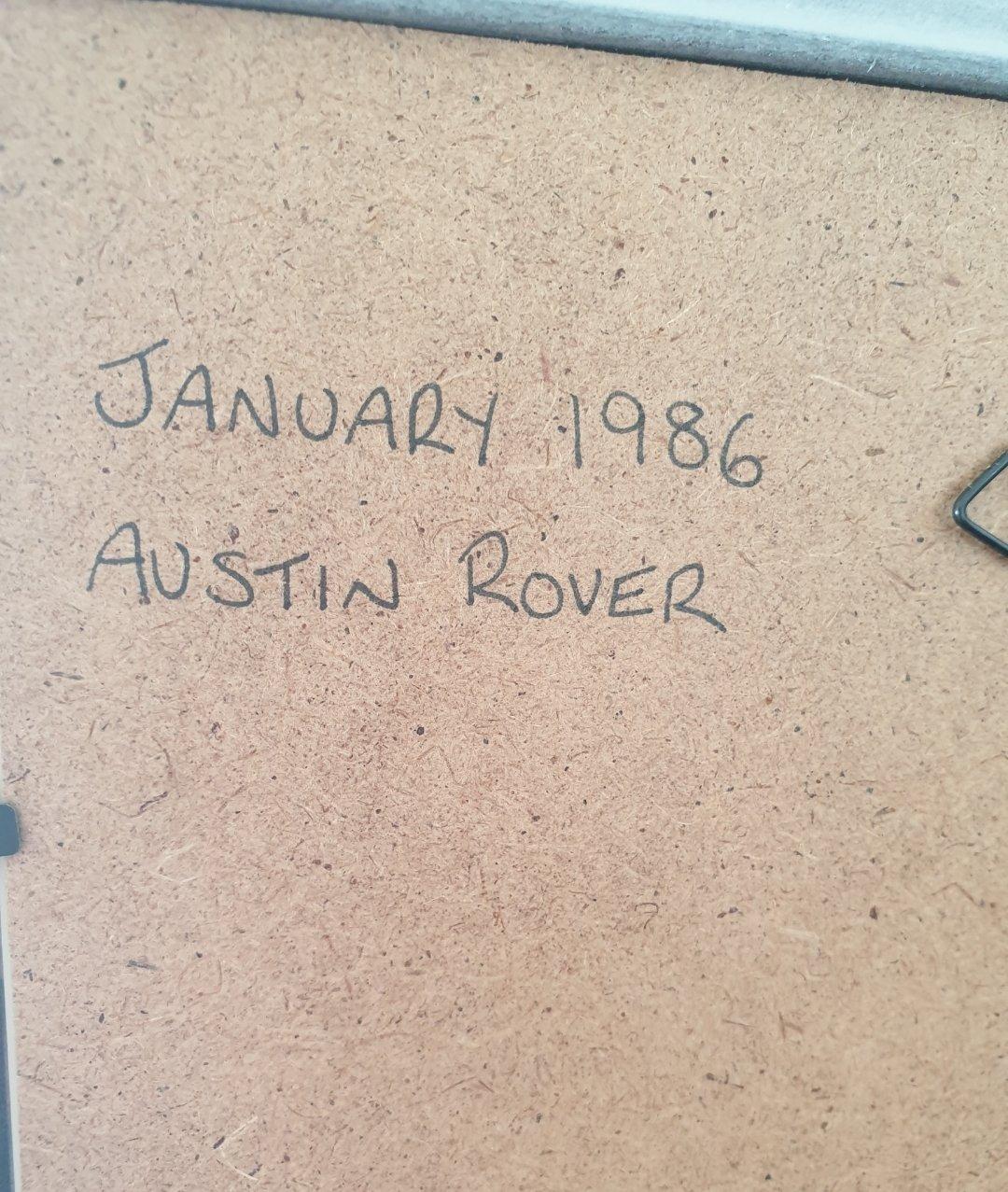 1986 Original Austin Rover range advert For Sale (picture 2 of 2)