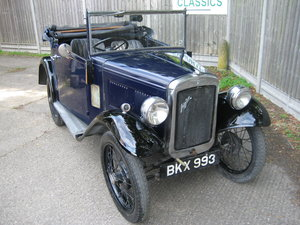 1935 Austin 7 Opal 2 seat tourer For Sale