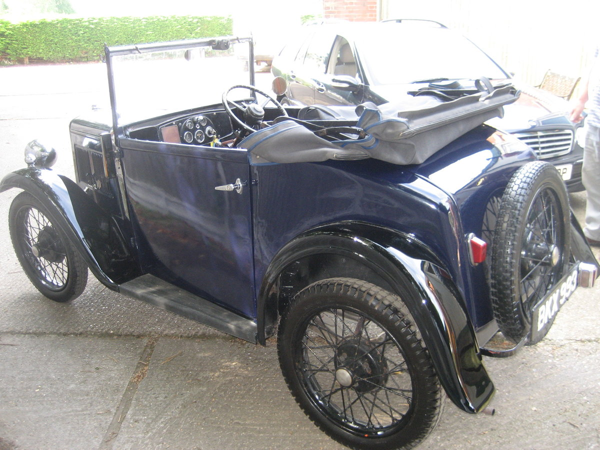 1935 Austin 7 Opal 2 seat tourer SOLD (picture 3 of 6)